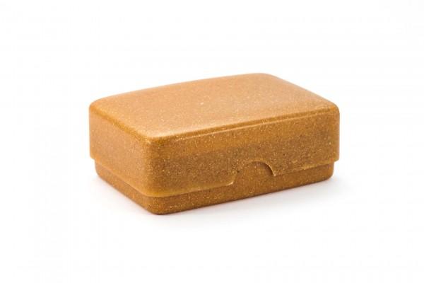 Seifendose aus Flüssigholz karamell