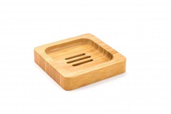 Seifenablage aus Bambus