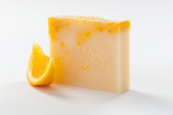 Orangen- Shake Naturseife