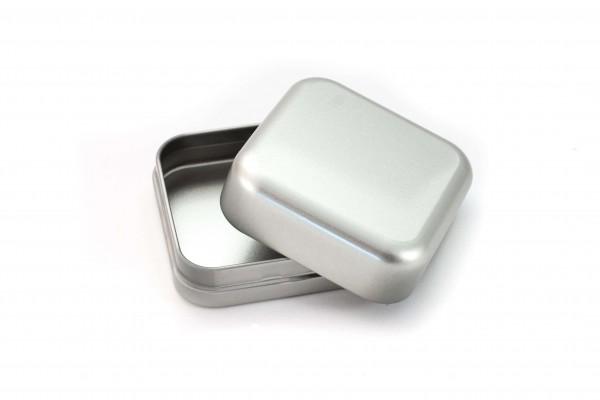 Seifendose aus Metall eckig